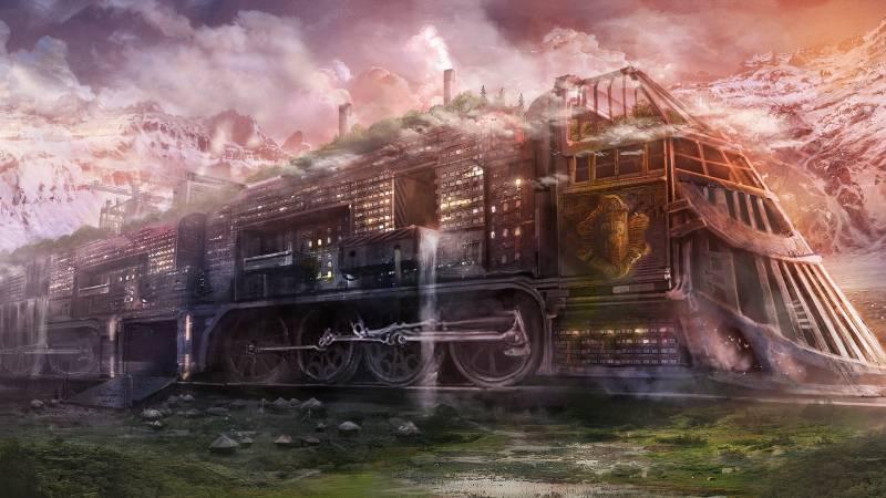 Resultado de imagem para поезд призрак